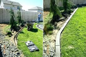 cheap garden edging. Cheap Garden Border Ideas Concrete Edging Lawn Landscape . R