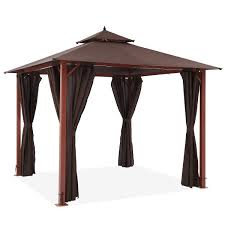 Pendant Gazebo Heater With Light Forestory Gazebo 3x3m