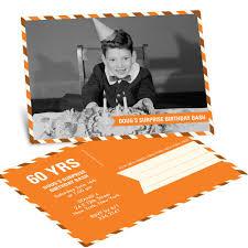 Photo Invitation Postcards Postal Delivery Horizontal Birthday Invitation Postcards Pear Tree