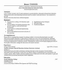 Teacher Assistant Resume Custom Teacher Assistant Resumes Best Resume Collection Samples 60