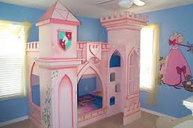 Princess Bedrooms For Girls Girls Bunk Beds