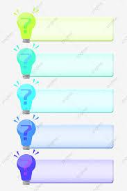 Bulb Chart Light Bulb Chart Decoration Illustration Light Bulb Chart