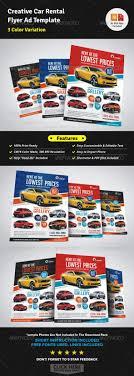Automotive Car Rental Flyer Ad Eps Template Multipurpose Flyer