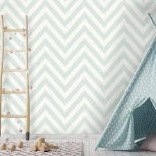 holden chevron striped pattern childrens wallpaper pastel stripes kids motif 12570 soft teal i want wallpaper