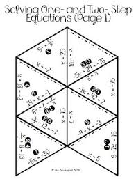 original 1755452 2 solving one and two step by lisa davenport teachers pay on one and two step equations worksheet
