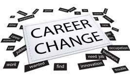 i need a career change career change job work opportunity concept stock illustration