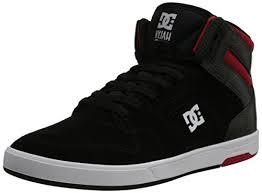 dc shoes high tops red and black. dc shoes mens nyjah high m high-top 320361 black/red/white 10 uk, 44.5 eu: amazon.co.uk: \u0026 bags dc tops red and black h