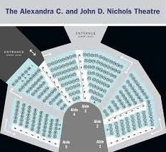 Nichols Theatre Seating Plan Your Visit Writers Theatre