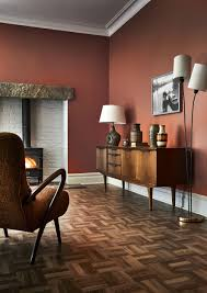 Burnt Orange Living Room Design 19 Dark And Atmospheric Decorating Ideas Living Room