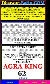 Gali Ka Satta Result Satta King Satta 2019 08 25