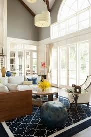 Navy Rug Living Room 17 Best Images About Living Room On Pinterest High Ceilings