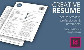 Indesign Modern Resume How To Create A Graphic Design Resume To Get Your Dream Job