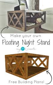 build your own floating night stands with these diy plans i you need is a