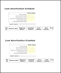 Amortization Schedule In Excel Awesome Amortization Schedule Excel Template With Extra Payments Free 44 Word