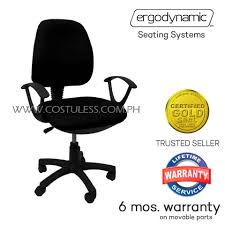 office chair picture. Ergodynamic OCA-105BLK Office Chair Furniture With Armrest, Staff Chair, Computer ( Picture