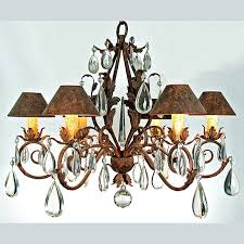 231 c 36 acanthus leaf chandelier