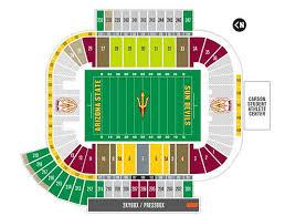Sun Devil Stadium Seating Chart 2016 41 Memorable Sun Devils Stadium Seating Chart