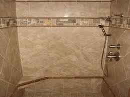 Wonderful Different Tiles Design Shower Designs This Shower Design Uses  Different S
