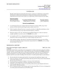 Financial Resume Objective Best Of Resume RGerbatsch Controller