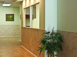 fiberglass reinforced panel indoor hallway
