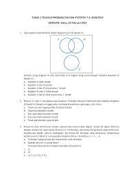 Diagram Venn Gabungan Tel61612 Tugas 1