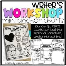 Writers Workshop Mini Anchor Charts