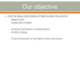 Documents Of Democracy
