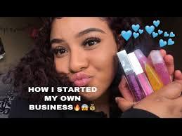 business lip gloss line