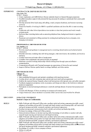 Recruiter Resume Sample Driver Recruiter Resume Samples Velvet Jobs 31