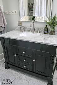 white bathroom vanities with marble tops. Black Bathroom Vanity With White Marble Top Bathrooms Decoration Mirror Photos 665x997 Vanities Tops M