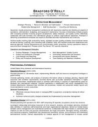 military to civilian resumes military to civilian management sample resume military resume example