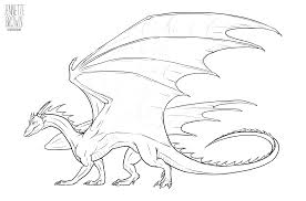 Dragon lineart template 2 by sugarpoultry on deviantart