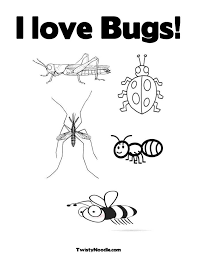 Small Picture Bug Coloring Page GetColoringPagescom
