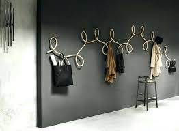 Unique Coat Racks Extraordinary Unique Coat Racks Modern Wall Mount Coat Rack Unique Coat Rack