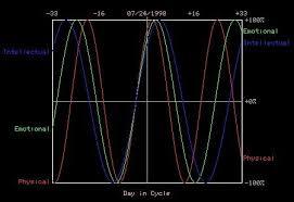 Free Biorhythm Chart Our Free Online Biorhythm Chart Plots The Key 3 Biorhythm