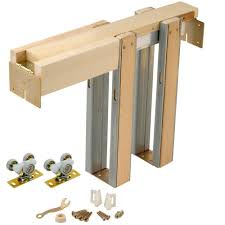 johnson hardware 1500hd series 36 in x 80 in pocket door frame for 2x4