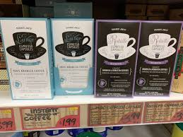 Trader joe's nespresso compatible espresso lungo and ristretto sampler capsules 1.8 oz ground coffee (sampler 20 capsules) 13 $17 99 ($9.00/count) The Ultimate Healthy Trader Joe S Grocery List Over 50 Dietitian Approved Food Items Shaped By Charlotte