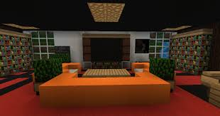 Modern Bedroom Minecraft Minecraft Pe Living Room Furniture House Decor