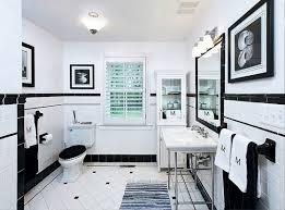 Black And White Bathrooms Black And White Bathroom Floor Tiles