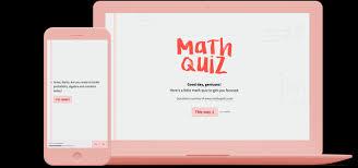 Online Quiz Templates Online Math Quiz Template Typeform 30