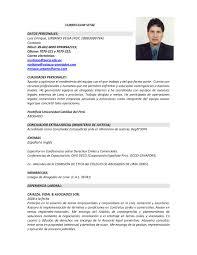 modelo curriculum taringa de portugues modelo curriculum vitae en espanol y zooz1