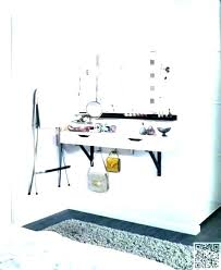 Small Vanity Table Cheap With Lights White Set Makeup Bedroom ...