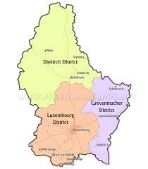 luxembourg maps  by freeworldmapsnet