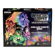 Dc Comics Dice Masters War Of Light Buy Dc Dice Masters War Of Light Collectors Box Online At