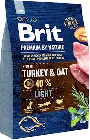 OLD Сухой корм <b>Brit Premium</b> by Nature Light для взрослых собак ...