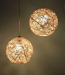 diy dining room lighting ideas. Cool Diy Bedroom Lighting Ideas A Dining Table By Set Twine Pendant Room