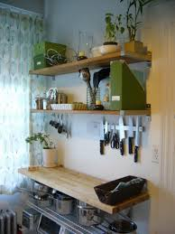 Kitchen Wall Shelves Kitchen Wall Rack Shapely Transparent Bar Stools Glossy Concrete
