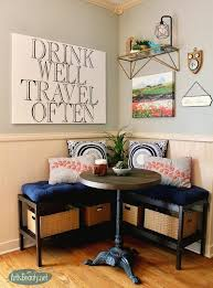 Breakfast nook furniture Set How To Create Breakfast Nook Using Ikea Benches How To Outdoor Furniture How To Create Breakfast Nook Using Ikea Benches Home