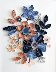 Paper Quilling Flower Bokeh