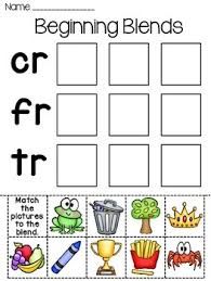 Kids can develop their english and math skills with worksheets that cover phonics, addition, color by number, color by letter, and writing. Beginning Blends Worksheets Teachers Pay Teachers